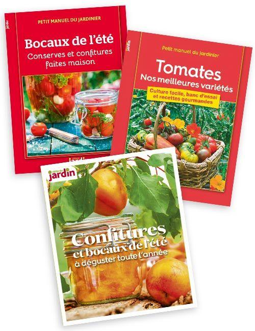 Les booklets Bocaux de l'été + Tomates + Confitures