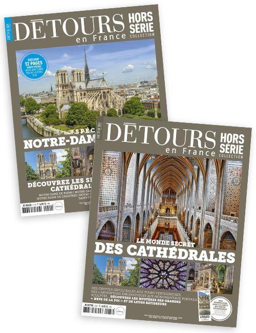 Les hors-séries Le monde secret des cathédrales + Notre Dame de Paris
