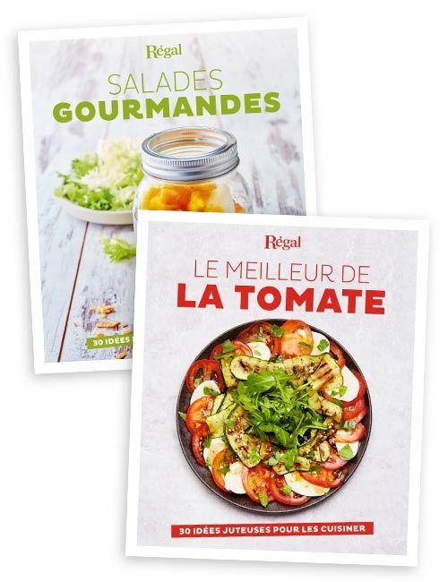 Salades gourmandes + le meilleur de la tomate