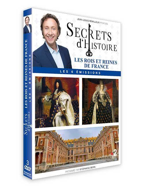 DVD les Rois et les Reines de France