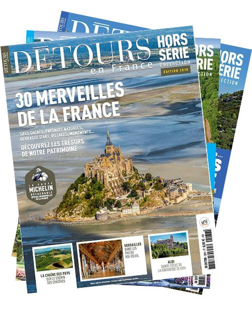 Pack HS: France sauvage / La France vue du tour / Les 30 merveilles de la France