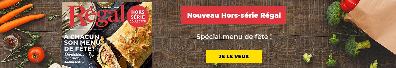 Nouveau Hors-série Régal Spécial  menu de Fêtes